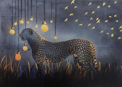 Indigo Cheetah