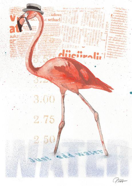 Chaplin's Flamingo