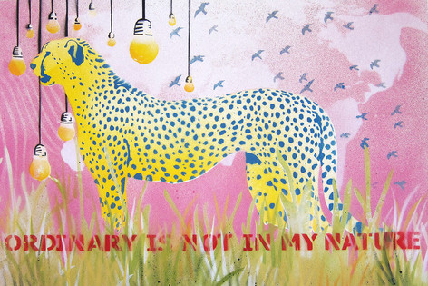 Ordinary is not in my nature –Pink Cheetah