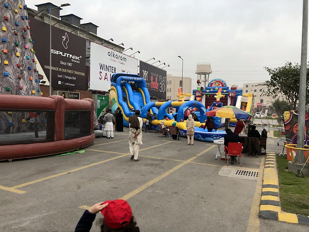 Inflatable park at packages mall.jpg
