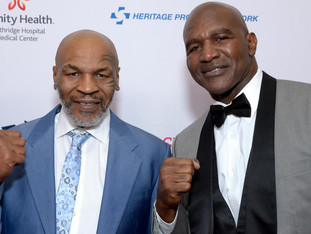 Mike Tyson Vs Evander Holyfield is officially on.