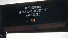Drake Reveals Project Pat on 'Certified Lover Boy' Using Billboard in Memphis.