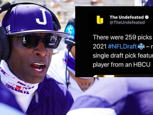 Deion Sanders: HBCU players were neglected and rejected in the NFL draft