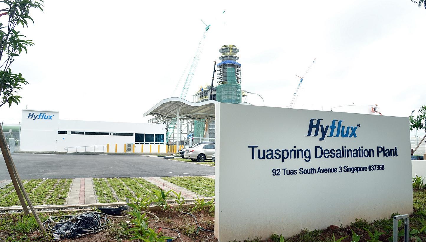 Tuas Desalination Plant PCS