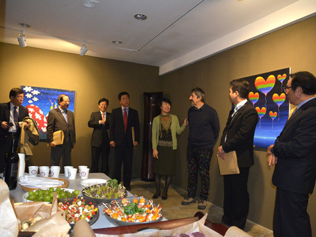 HEART TO HEART: COPLU'S CHARITY EXHIBITION IN SEOUL WITH KOREA HEART FOUNDATION