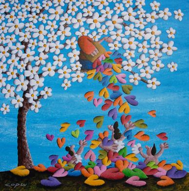 Primeval Joy And Harmony Of Spring