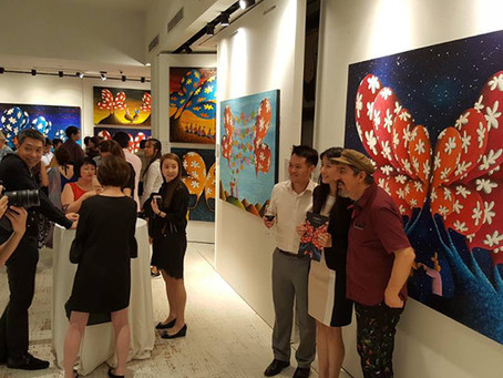 """FLY TO LOVE"" SOLO EXHIBITION AT ODE TO ART GALLERY"
