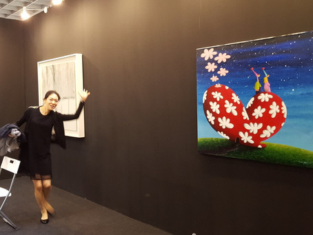 COPLU'S PAINTINGS AT ART EXPO MALAYSIA