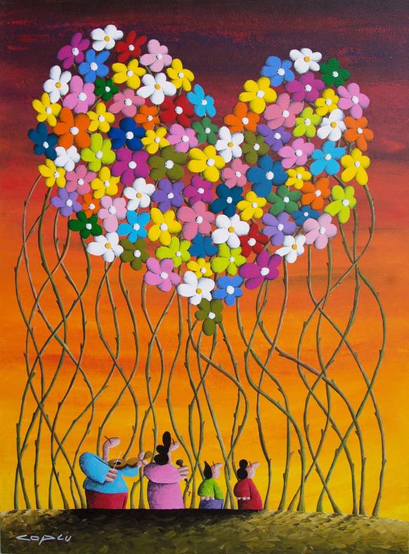Spring Flowers' Lovely Gathering