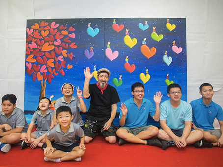 30 BENEFICIARIES FROM ST. ANDREW'S AUTISM CENTRE CREATE COLLABORATIVE ARTWORK WITH COPLU