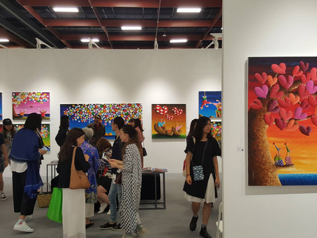 COPLU ENTERING INTO TAIWAN'S ART WORLD THROUGH THE 25TH ART TAIPEI FAIR