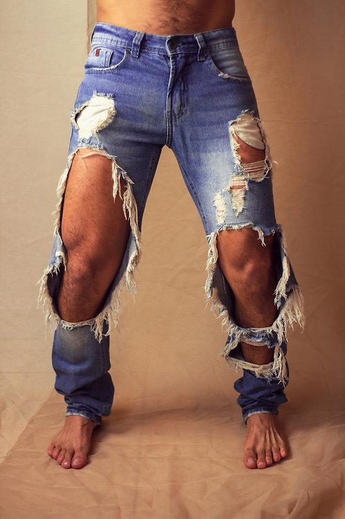 Calça Jeans Destroied