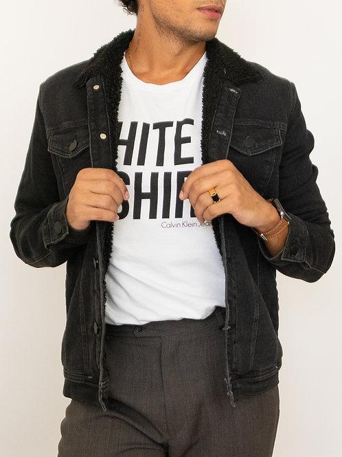 Casaco Jeans: Calvin Klein (Preto)