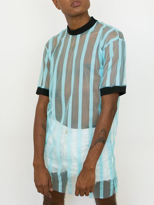 Camiseta Oversized Listrada