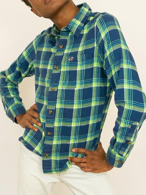 Camisa Quadriculada Hollister