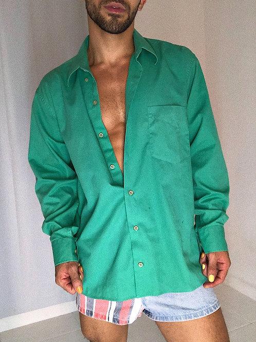 Camisa manga longa verde