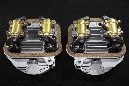 Replica Motortechnic Mfg.Panhead Head Set 1948-1954 with valves and Rocker arms