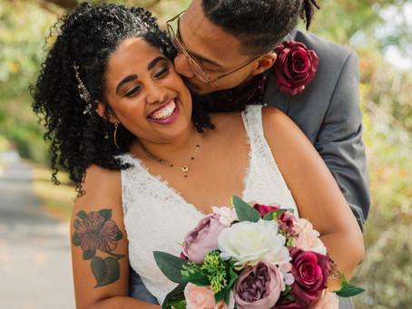 Denzel and Mikayla's Chesapeake Wedding