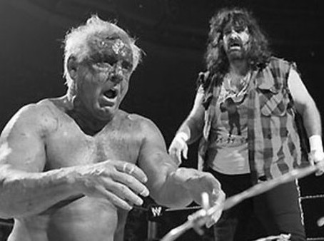 Flair and Foley - A Battle of Legends