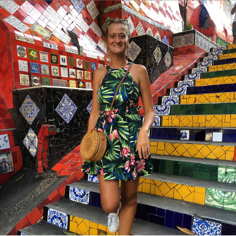 Escaliers Selaron