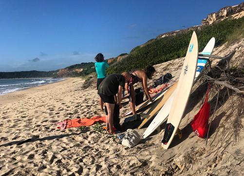 Sortie Surf à Cacimbinhas