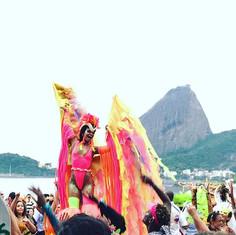 🐆Ô Alegria ! 💜💛💖 #carnaval #riodejan