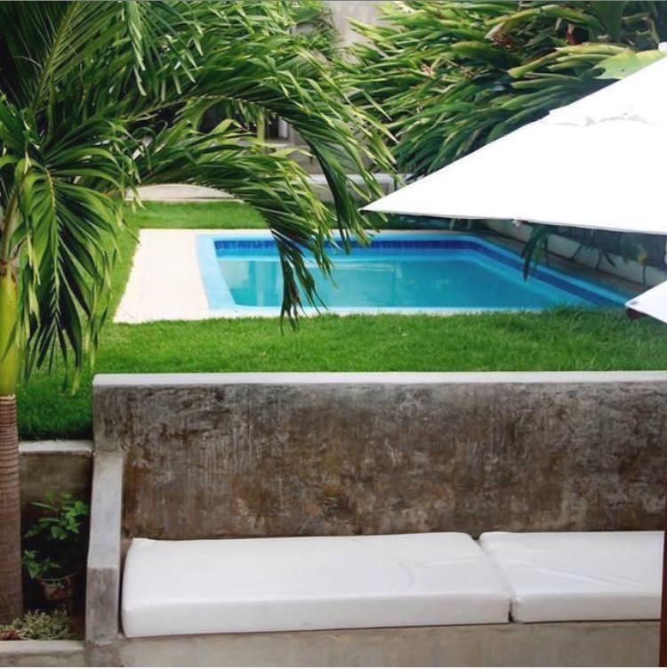 La piscine de la maison