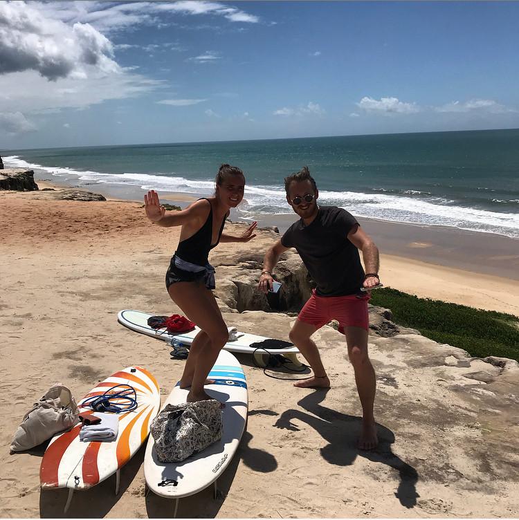 Presque prête à surfer