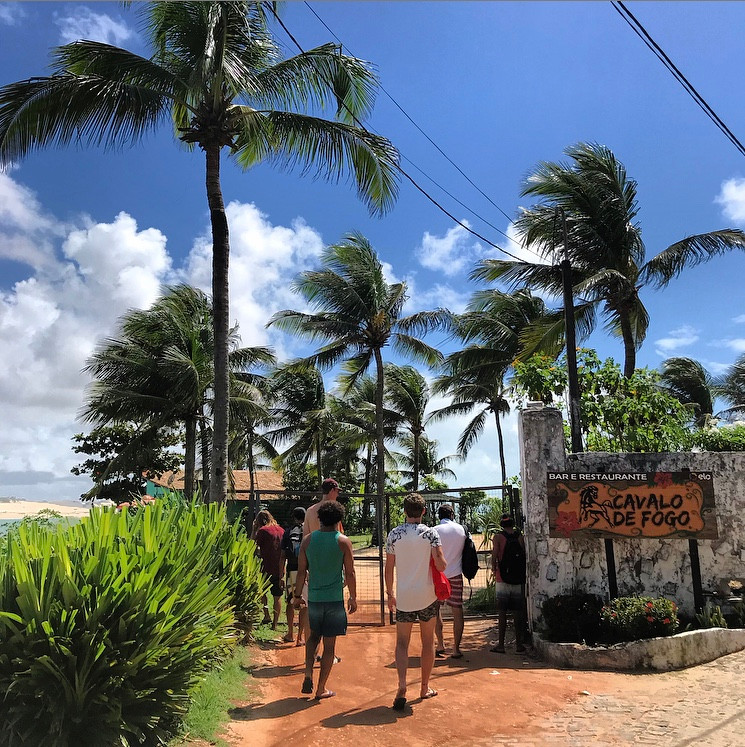 Kitesurf's routine, Tibau do Sul