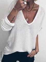 Soft V T-shirt