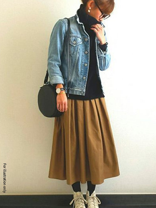 Elastic band skirt