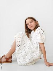 Light spring lace dress