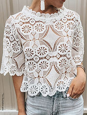 Lace T shirt