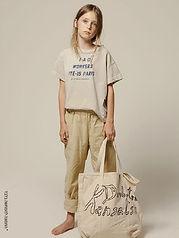 מכנסיים על גומי במראה זרוק