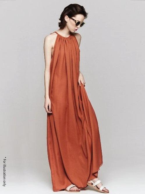 Maxi string dress
