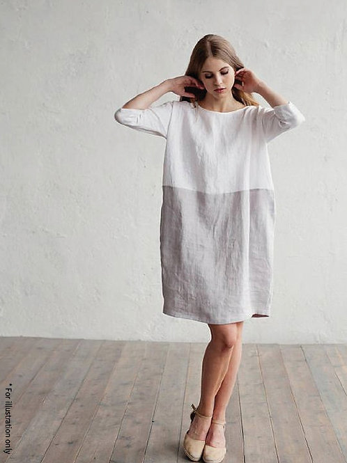 Wide straight dress