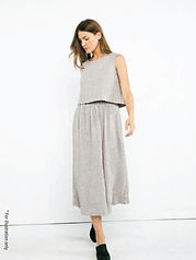 Summer elastic band skirt