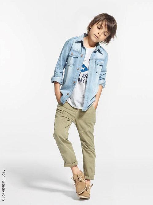 pants with elastic band