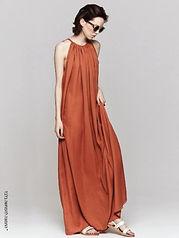 שמלת מקסי על שרוך