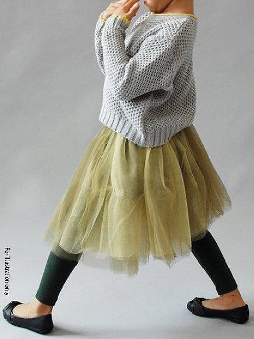Tulle gathering skirt