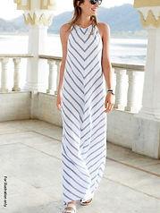 A line long dress