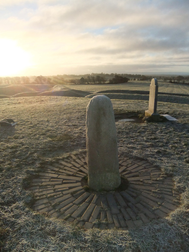 Hill of Tara, ash scattering in Ireland