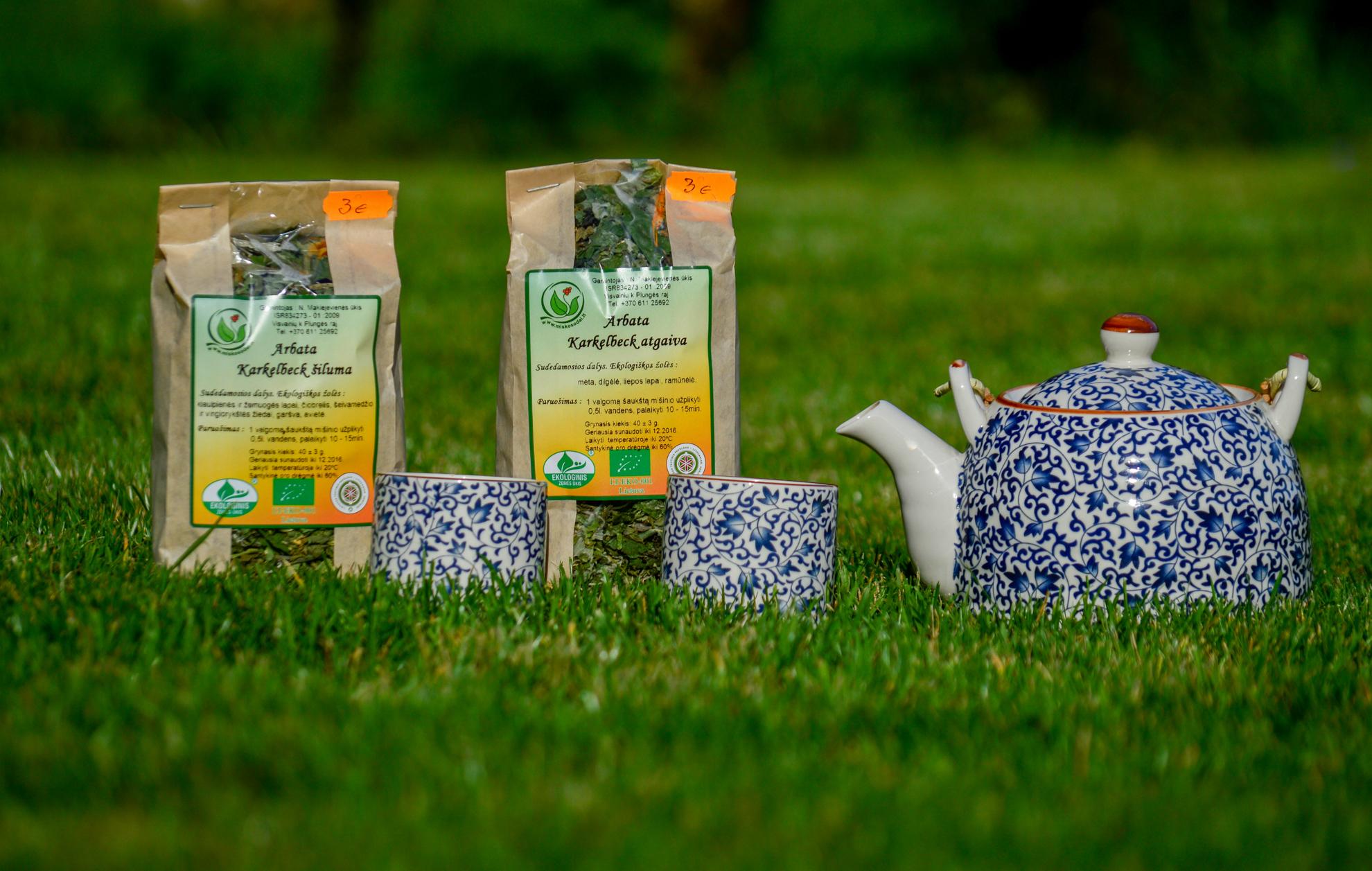 Karkelbeck arbatų mišiniai