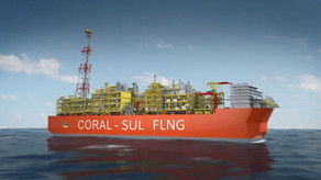 Italy's Eni on track for 2022 startup at floating Mozambique LNG project