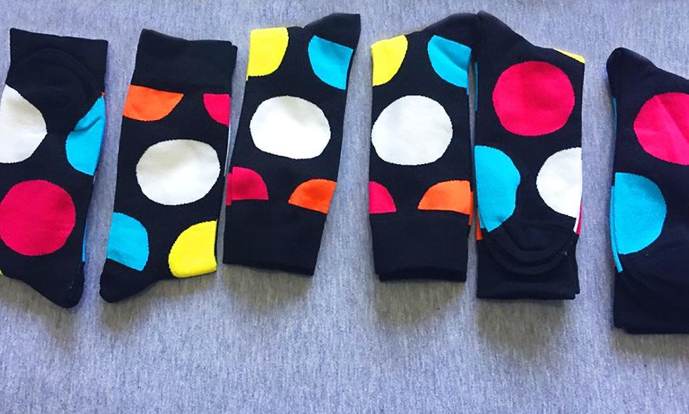 Dark & Bright Socks Pack of 6