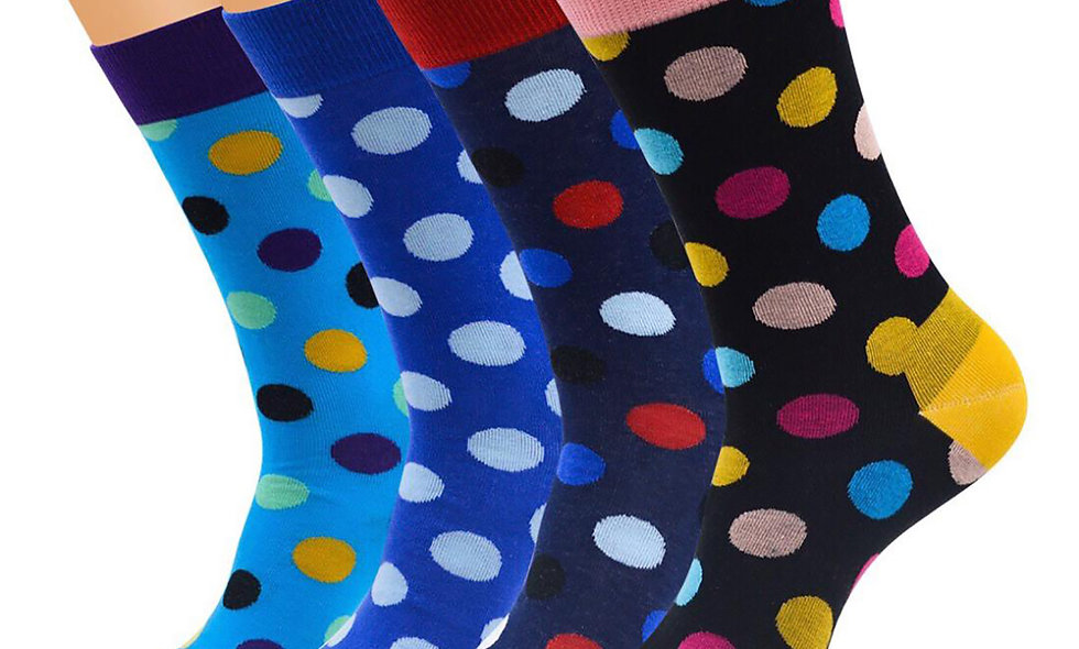Multicoloured Socks Collection Pack of 4