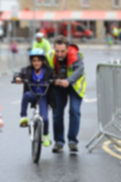 Barnsley town centre races volunteer