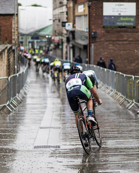 Cycle racing Barnsley