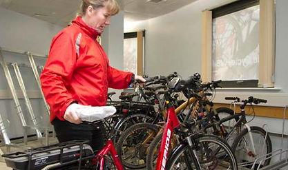 Barnsley bicycle storage