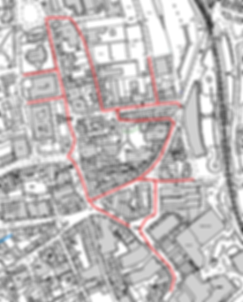 Barnsley town centre races road closure map